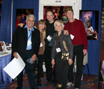 HEI's Dream Team for JazzArt onstage, Beverly Korenwaser, Grant Abrams, Vincent Simard, Lee Perry and David Franco